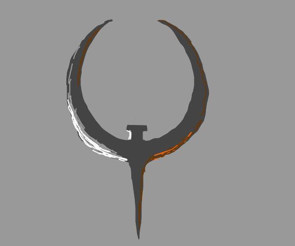 Quake modular logo (look it up)