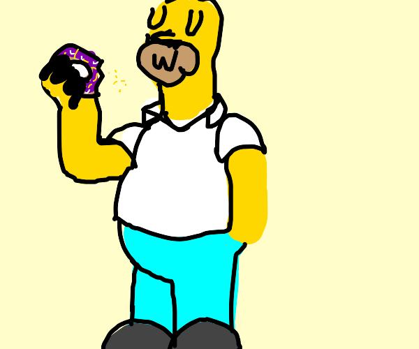 Homer says a UwU