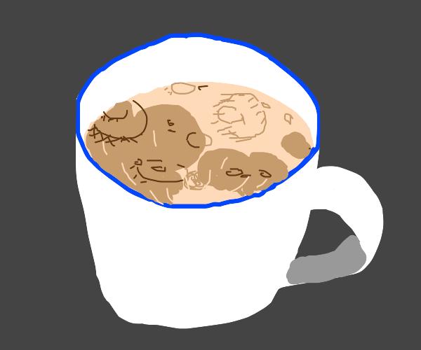 Teacup moon