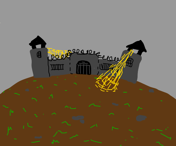 prison on a hill
