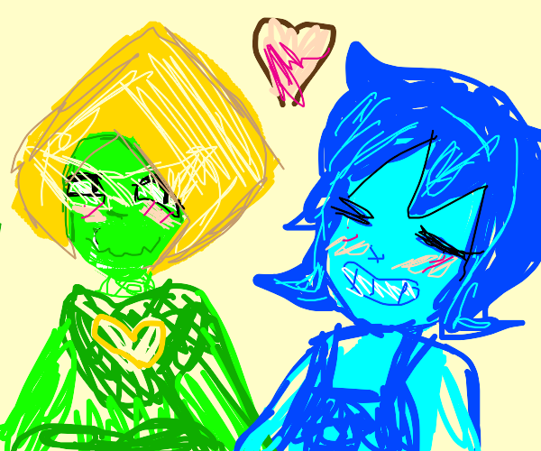 Lapis x peridot (there in love)