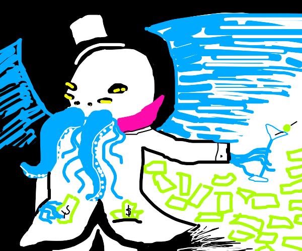 fancy alien