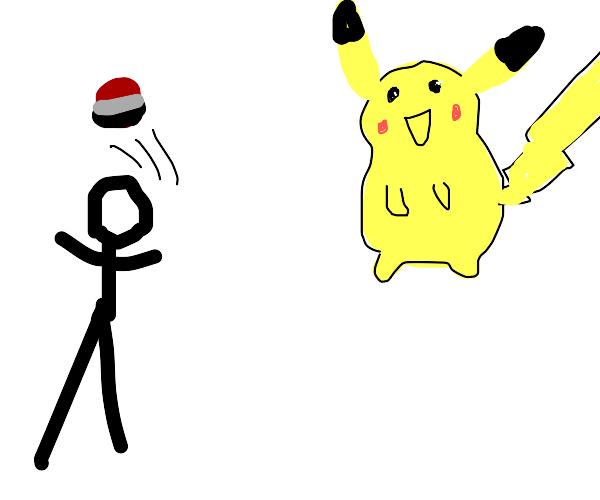 you missed pikachu