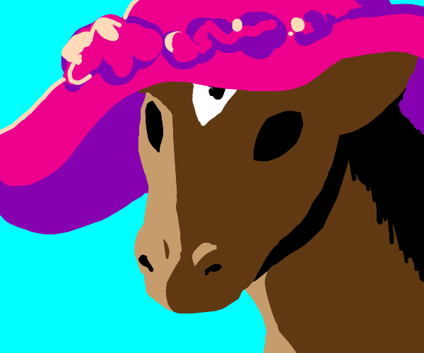 Horse in a Hat