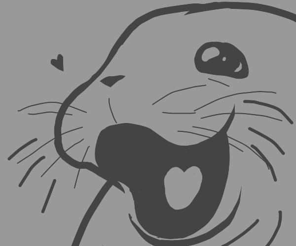 Happy walrus