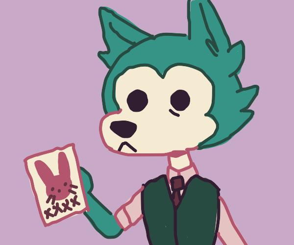 beastars wolf dude