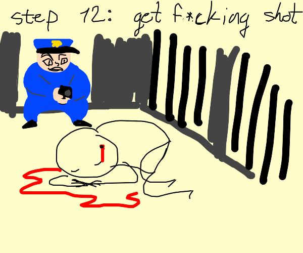 Step 11: start a prison riot