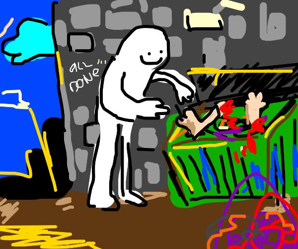 Disposing of spare limbs