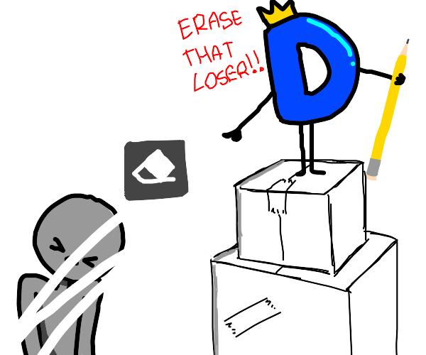 erase that loser!