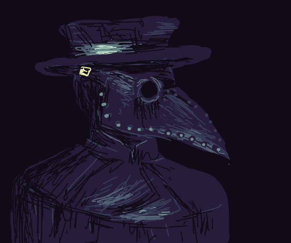 dark plague doctor