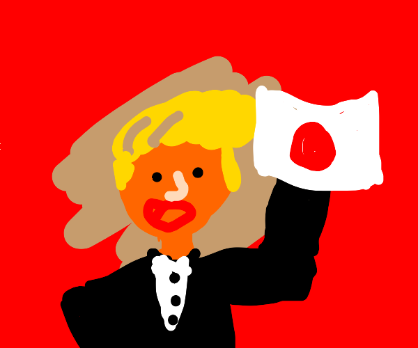 Trump supports japan