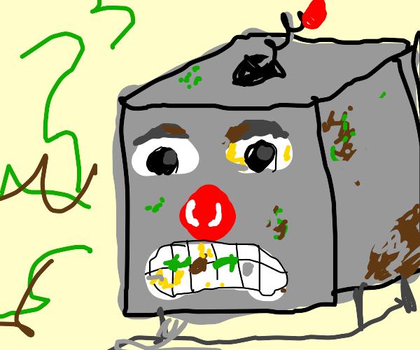Piece Of Trash Robot