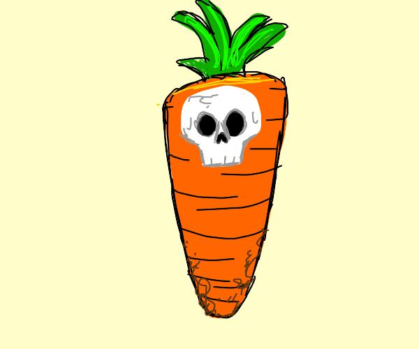 Carrot Skull