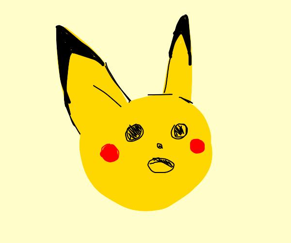Shocked Pikachu meme