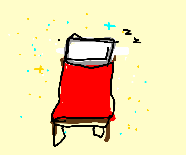 Bed with pillow