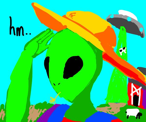 alien farmer