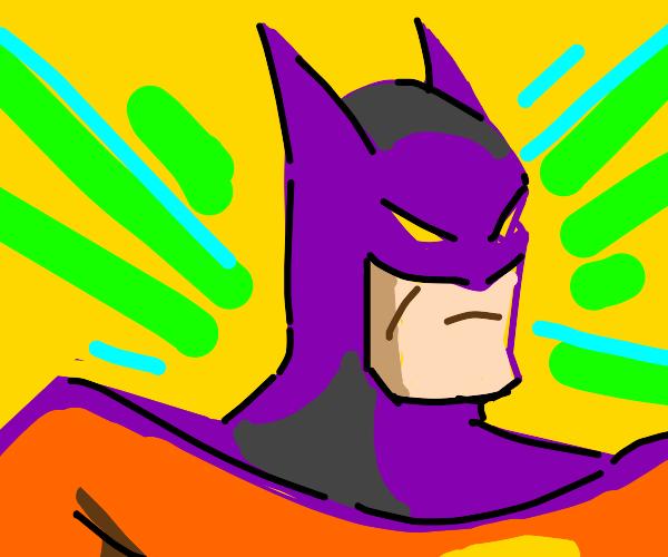 Batman is colorblind