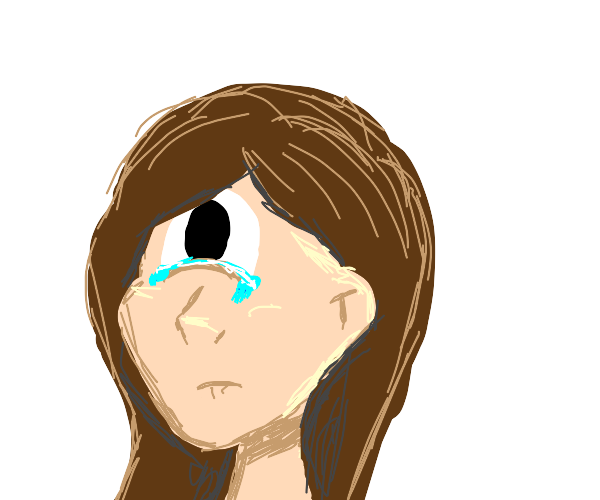 Cyclops women crying