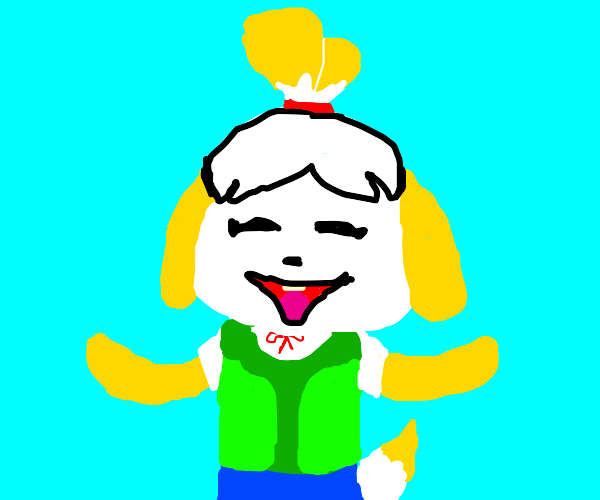Just Isabelle being wholesome