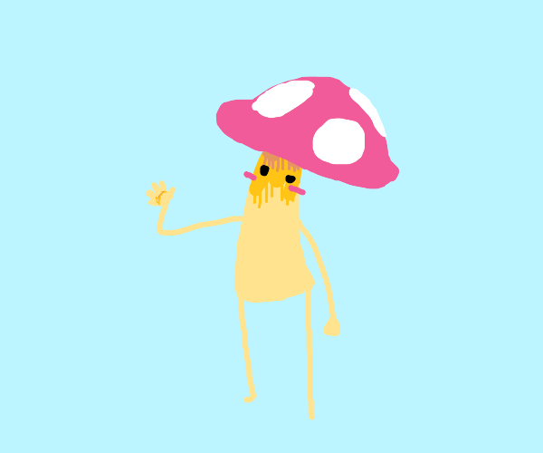 Waving mushroom