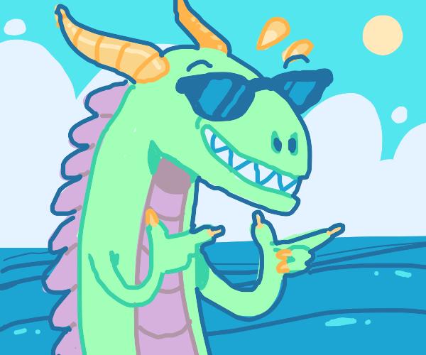 Beach Dragon is Kool