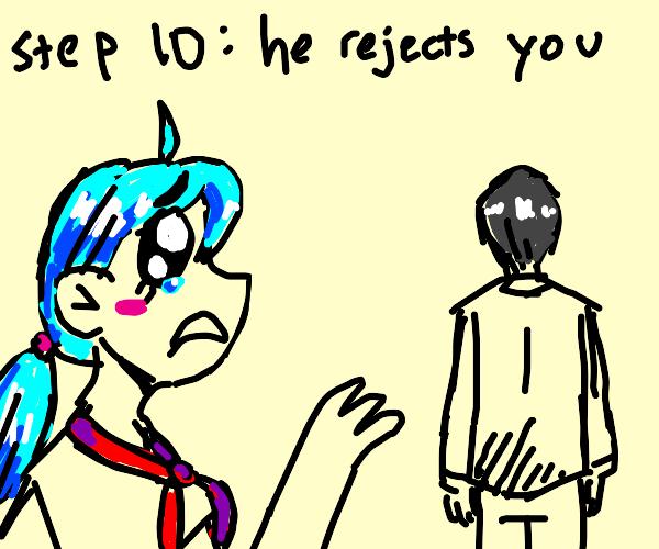 STEP 9: confess your feelings to sensei