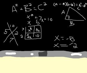 Math class????????