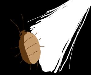 cockroach god spotlight uh moonlight uh