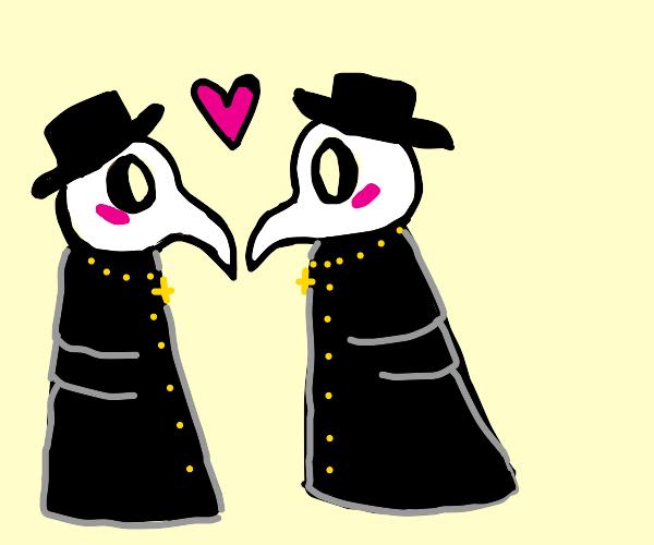 Plague Doctors in LOVE