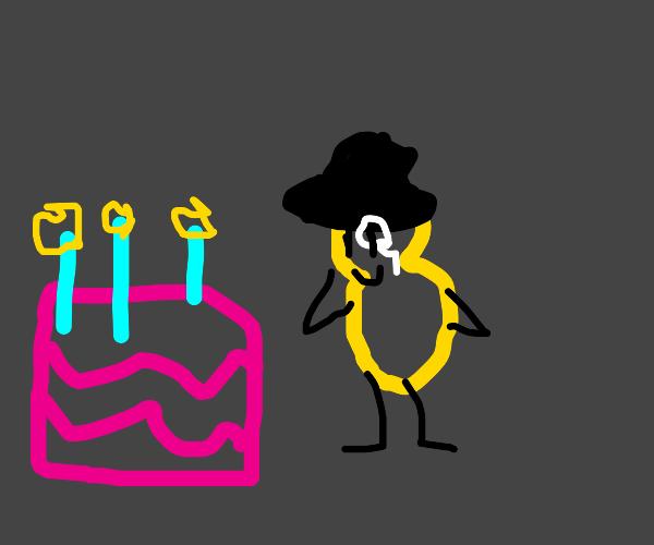Happy birthday Mr.Peanut!