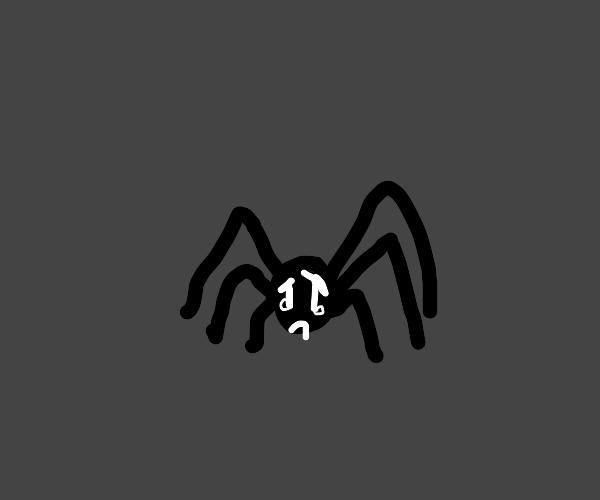 Sad spider :(