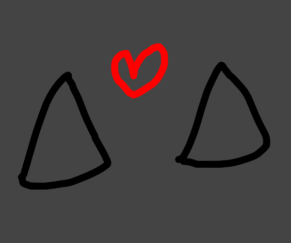 two triangles in love