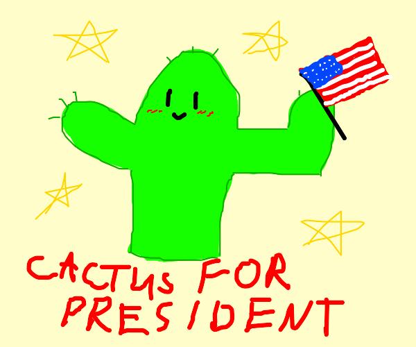 Vote for Cactus