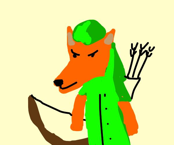 robin hood fox