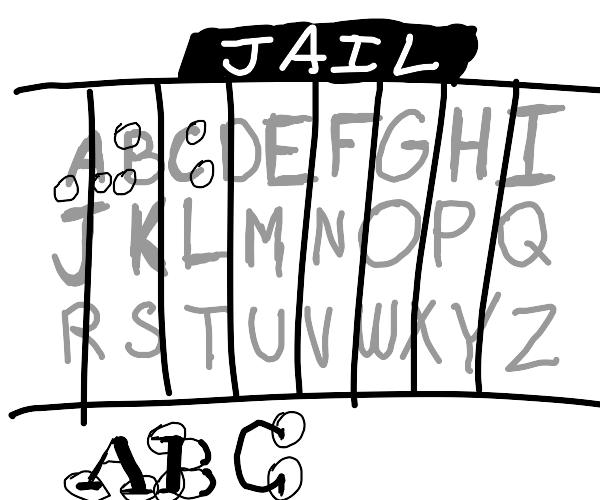 Sans in jail