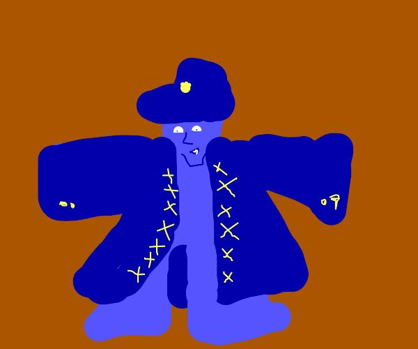 JoJo character T-Posing