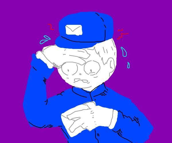 Nervous Mailman