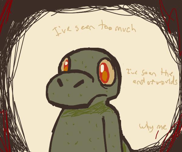 the all seeing crocodile