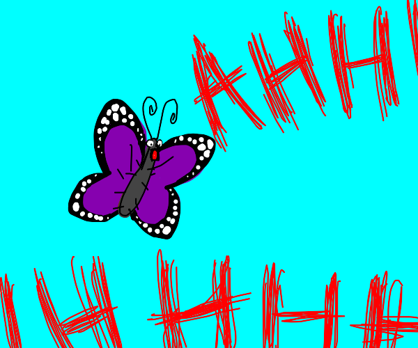 screaming butterfly