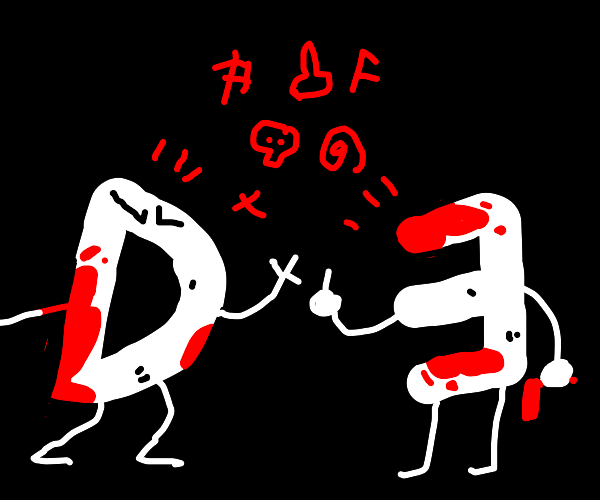 Drawception D vs. E