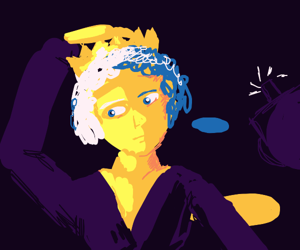 A Queen Posing