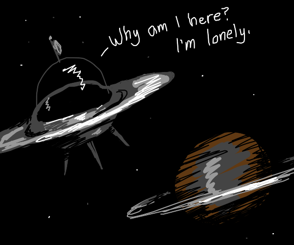 spaceship with an existential crisis