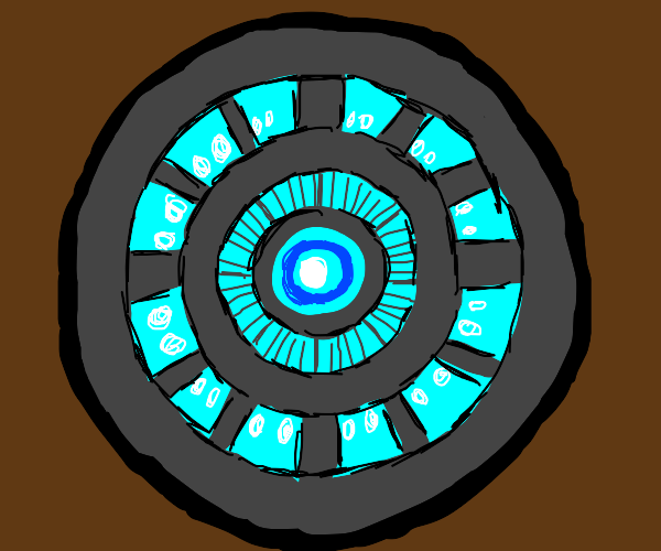 the iron man arc reactor