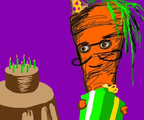 Happy Birthday Carrot!