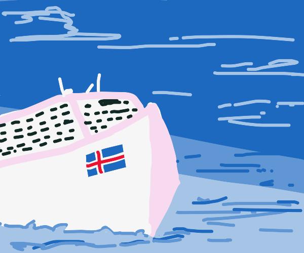 Iceland Cruise Ship
