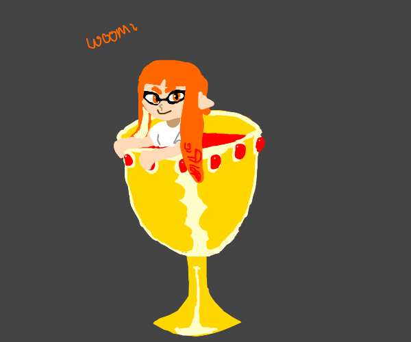 Inkling emerges from vampire's holy grail