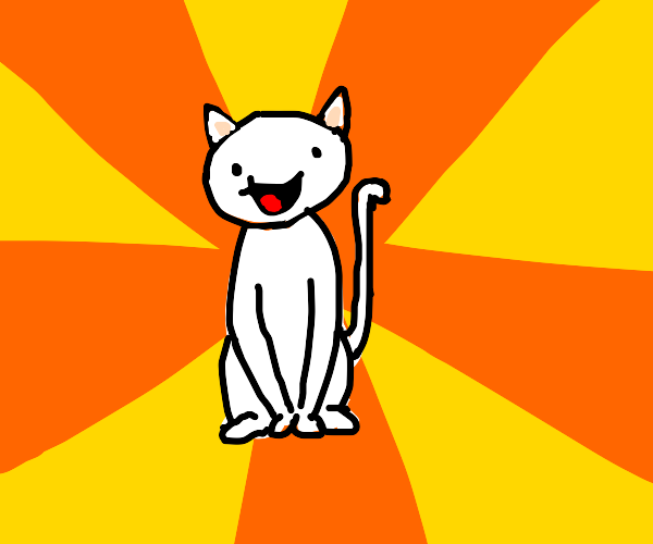 theodd1sout with the body of a cat