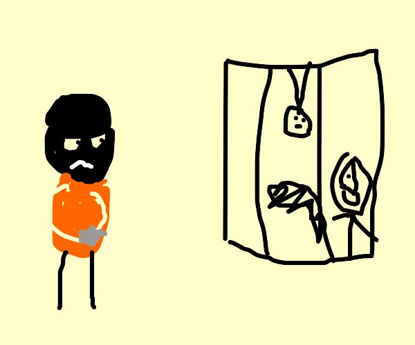a criminal goes to 'weird' jail