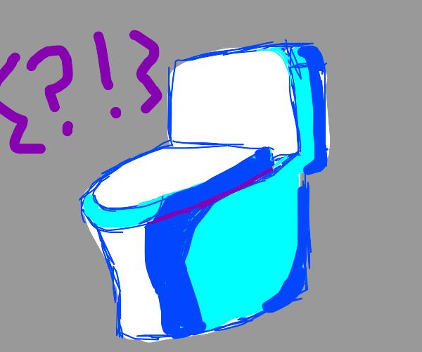Toilet says?!