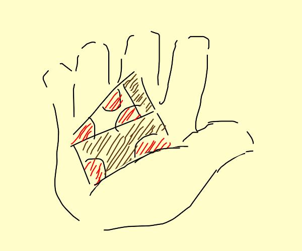 Pizza wedge
